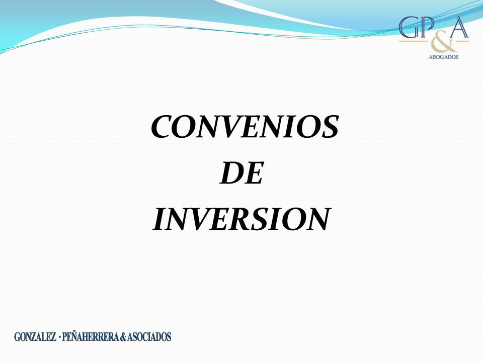 CONVENIOS DE INVERSION www.moorestephens.co.uk
