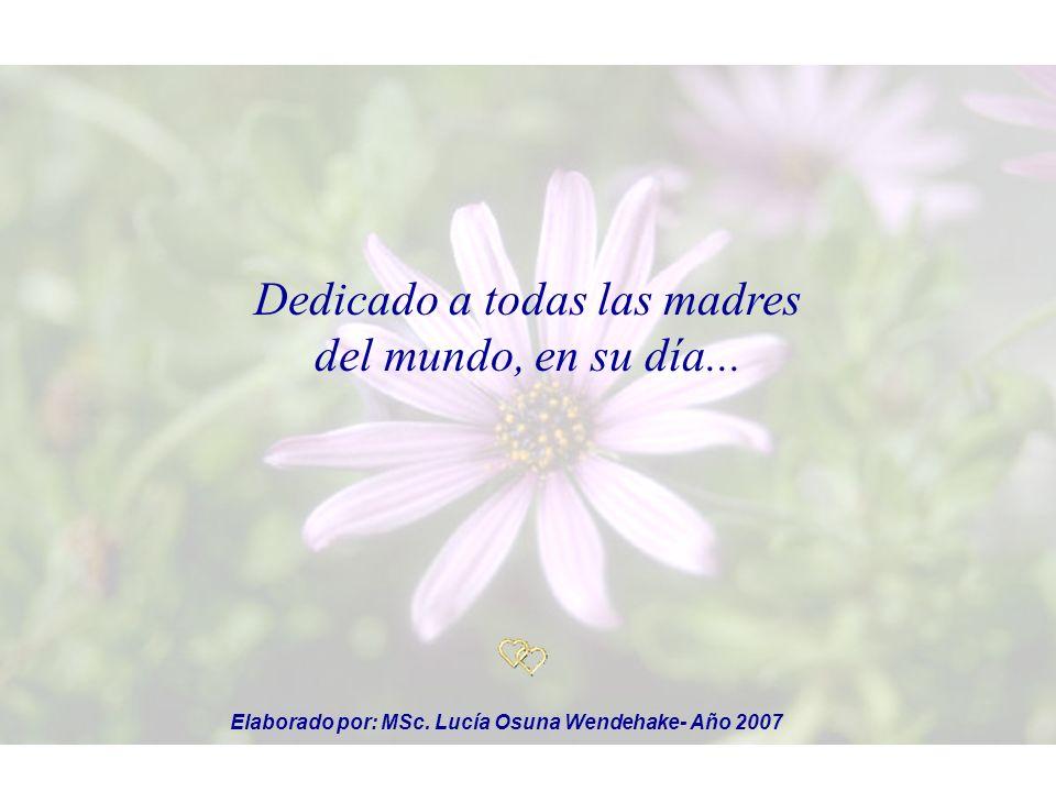 Elaborado por: MSc. Lucía Osuna Wendehake- Año 2007