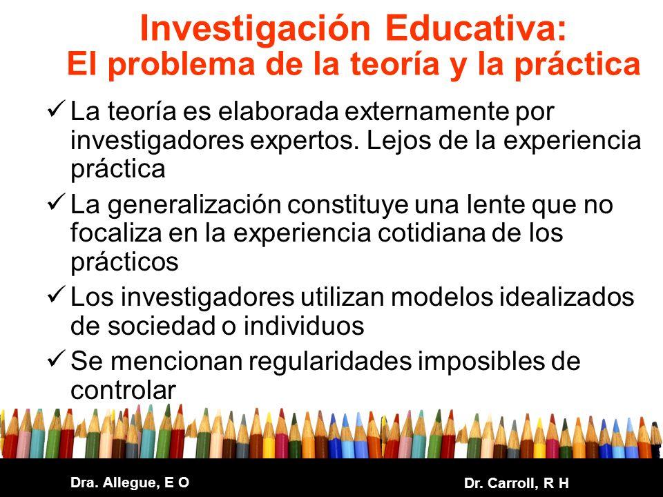 Investigación Educativa: El problema de la teoría y la práctica