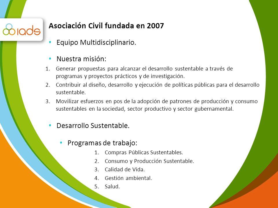 Asociación Civil fundada en 2007