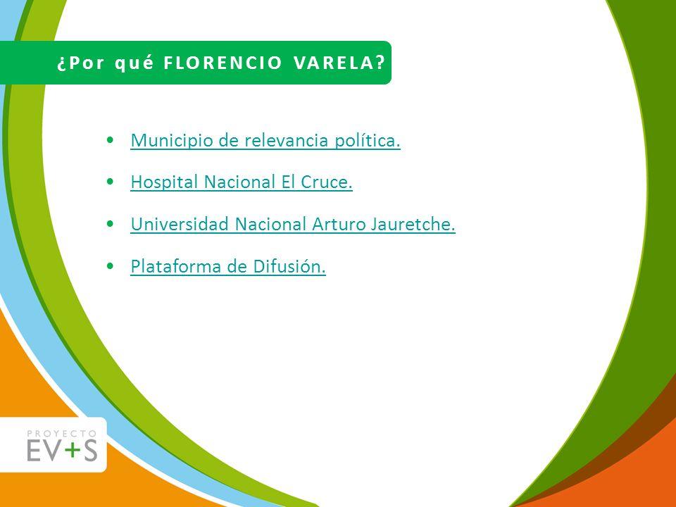 ¿Por qué FLORENCIO VARELA