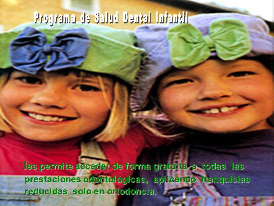 Programa de Salud Dental Infantil