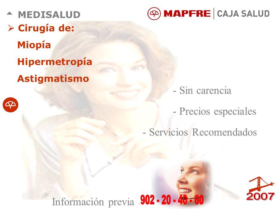 - Servicios Recomendados