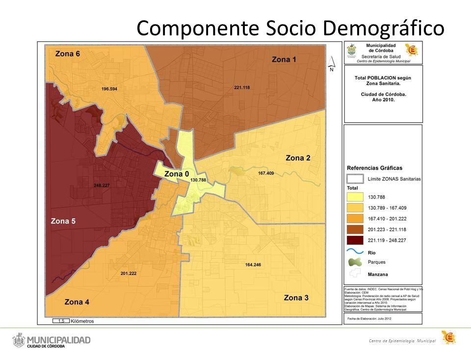 Componente Socio Demográfico