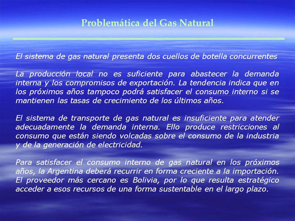 Problemática del Gas Natural