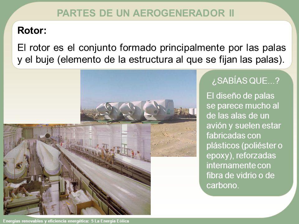 PARTES DE UN AEROGENERADOR II