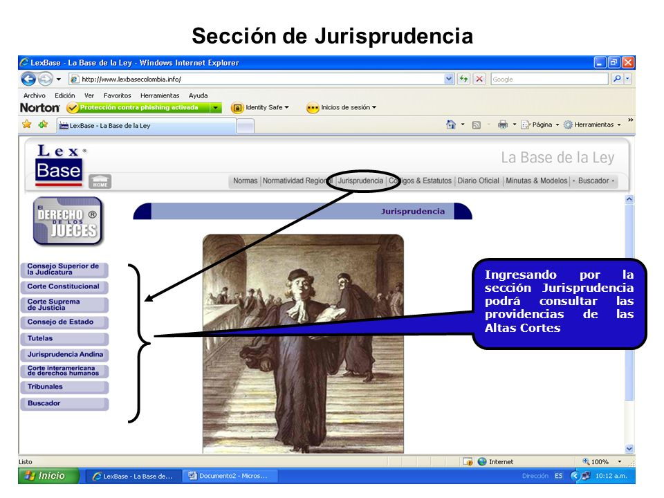 Sección de Jurisprudencia
