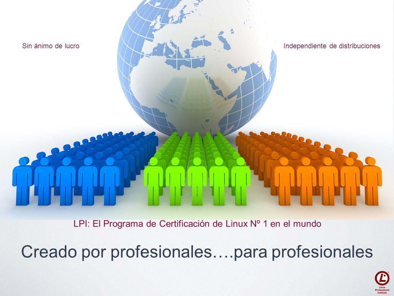 Creado por profesionales….para profesionales