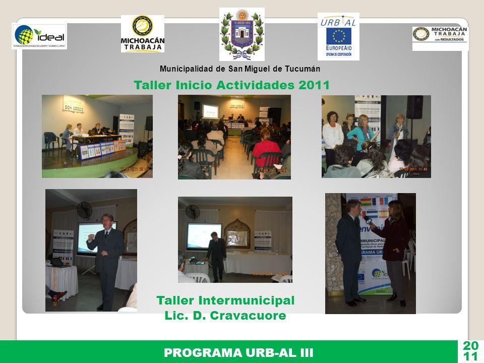 Taller Inicio Actividades 2011