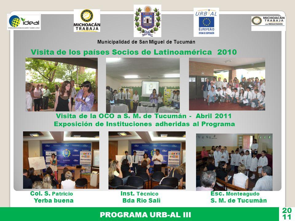Visita de los países Socios de Latinoamérica 2010