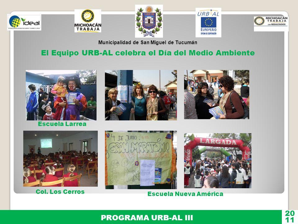 El Equipo URB-AL celebra el Día del Medio Ambiente