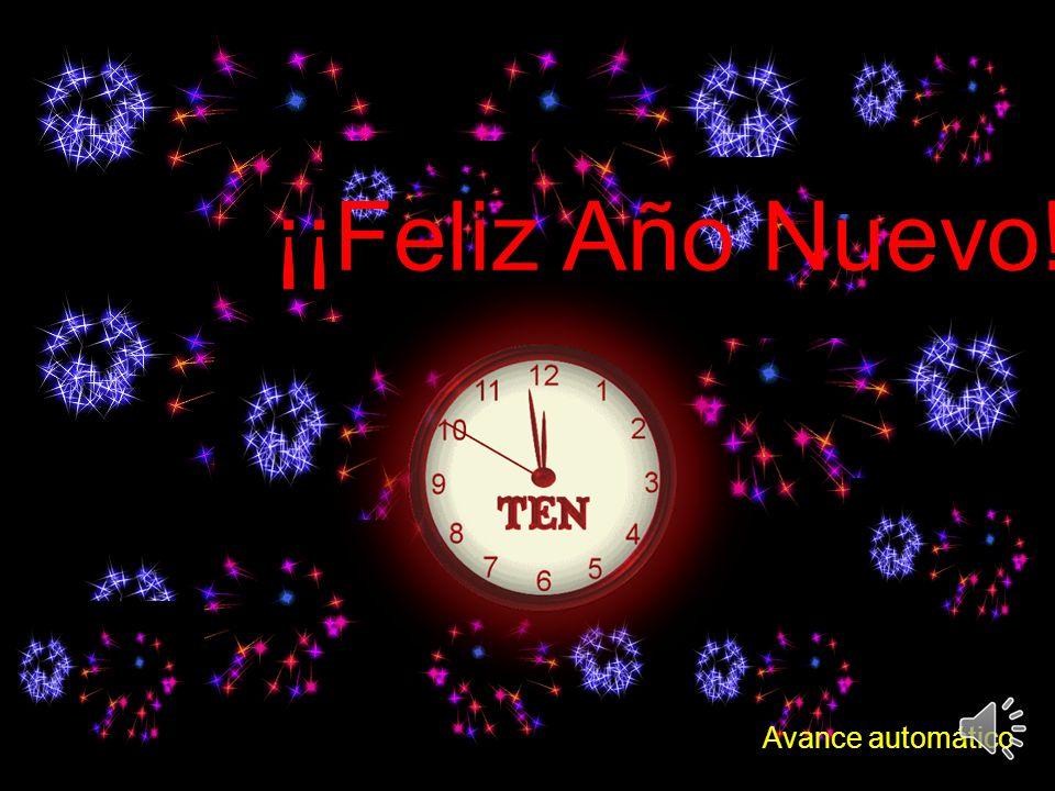 ¡¡Feliz Año Nuevo!! Avance automático
