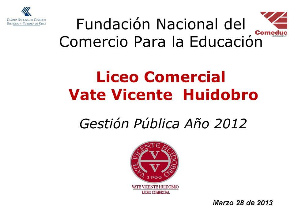 Fundación Nacional del Comercio Para la Educación Liceo Comercial Vate Vicente Huidobro