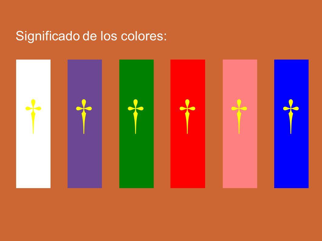 Significado de los colores: