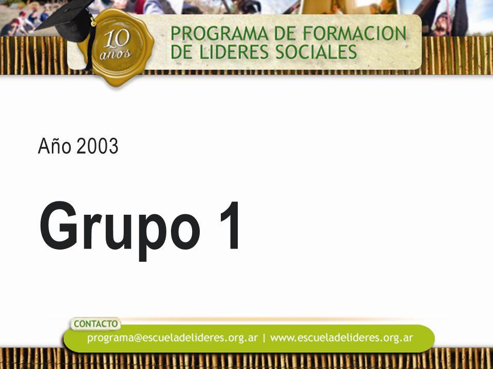 Año 2003 Grupo 1