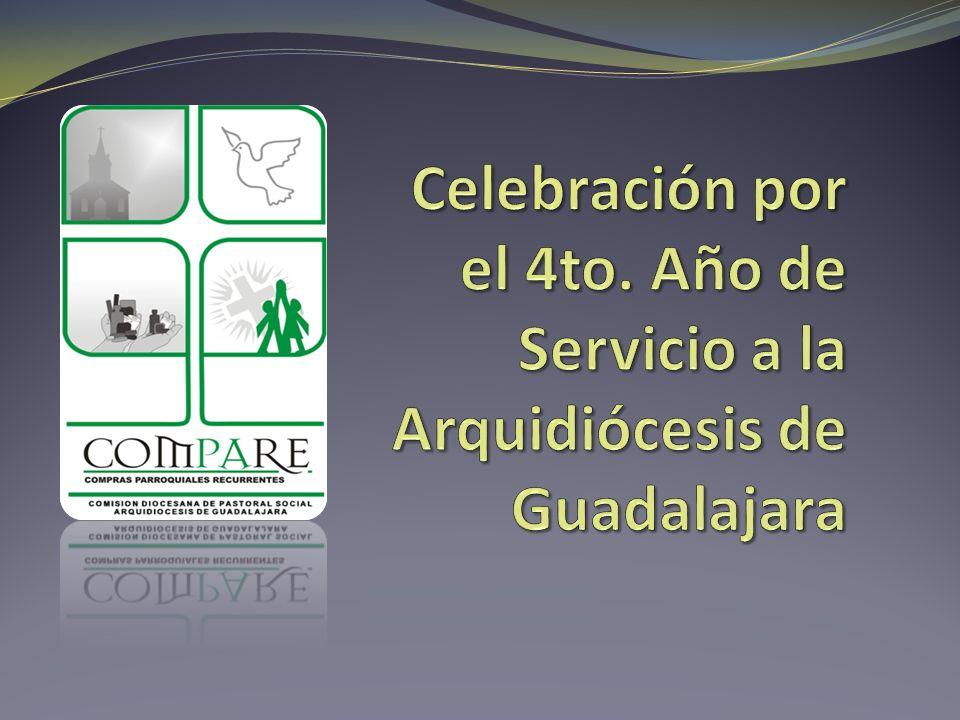 Celebración por el 4to. Año de Servicio a la Arquidiócesis de Guadalajara