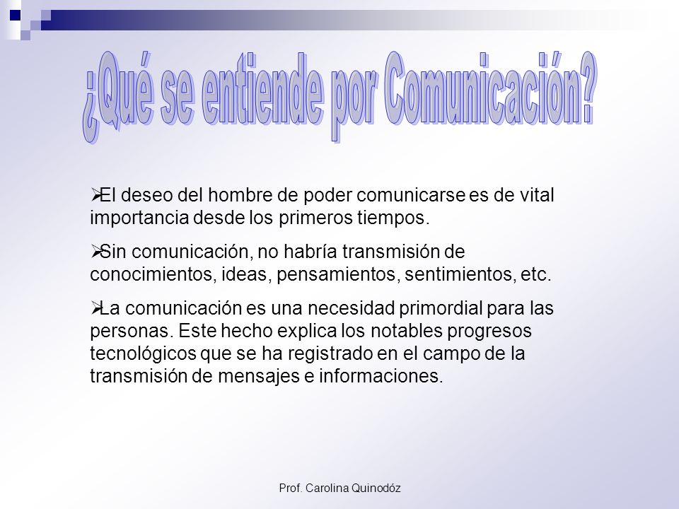¿Qué se entiende por Comunicación