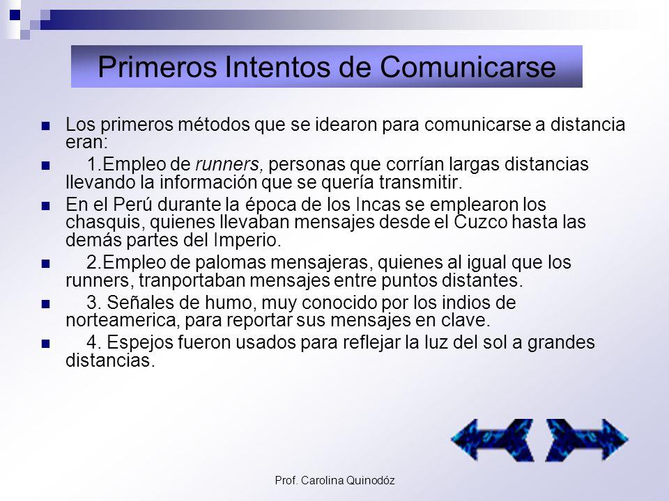 Primeros Intentos de Comunicarse