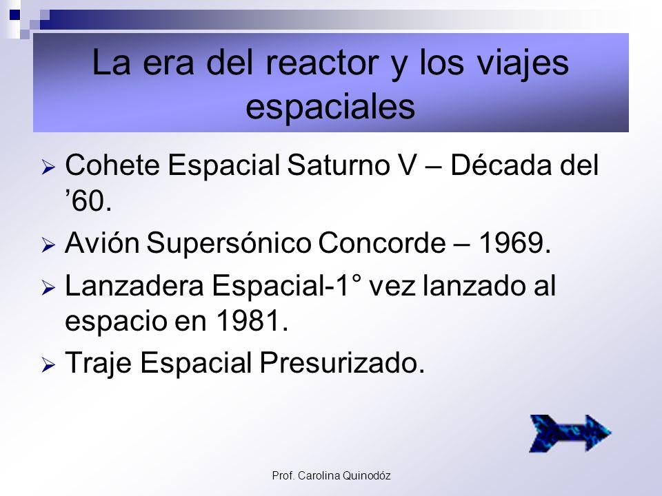 La era del reactor y los viajes espaciales