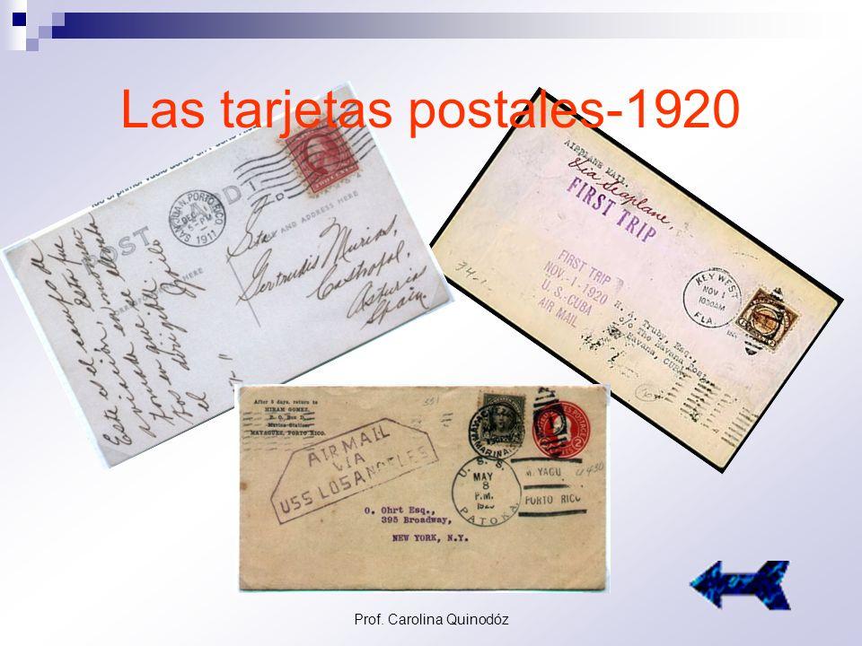 Las tarjetas postales-1920