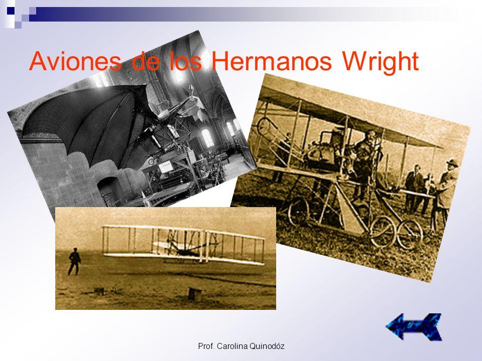 Aviones de los Hermanos Wright