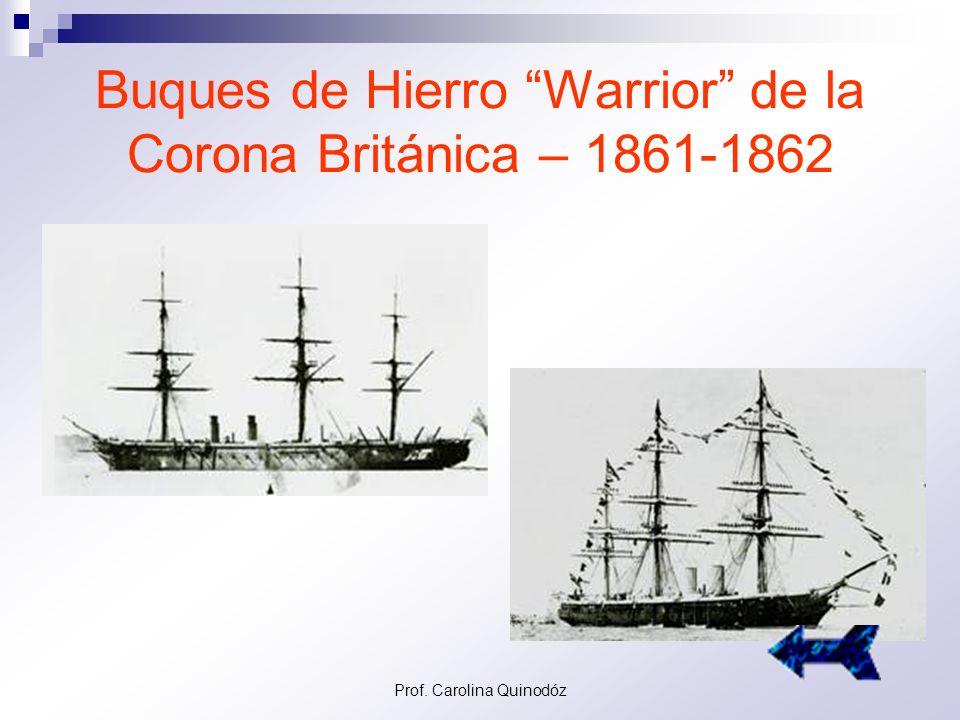 Buques de Hierro Warrior de la Corona Británica – 1861-1862