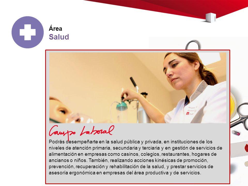 Área Salud.