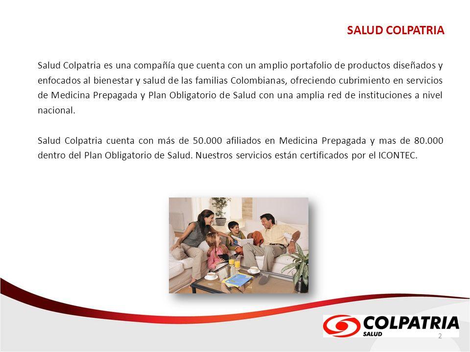 SALUD COLPATRIA QUIÉNES SOMOS