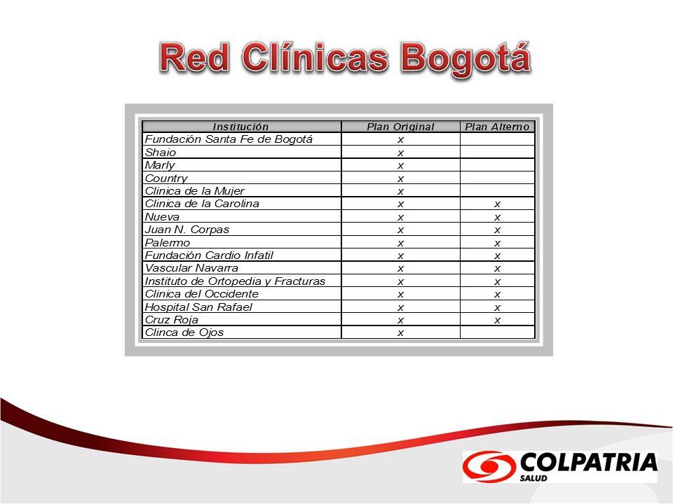 Red Clínicas Bogotá