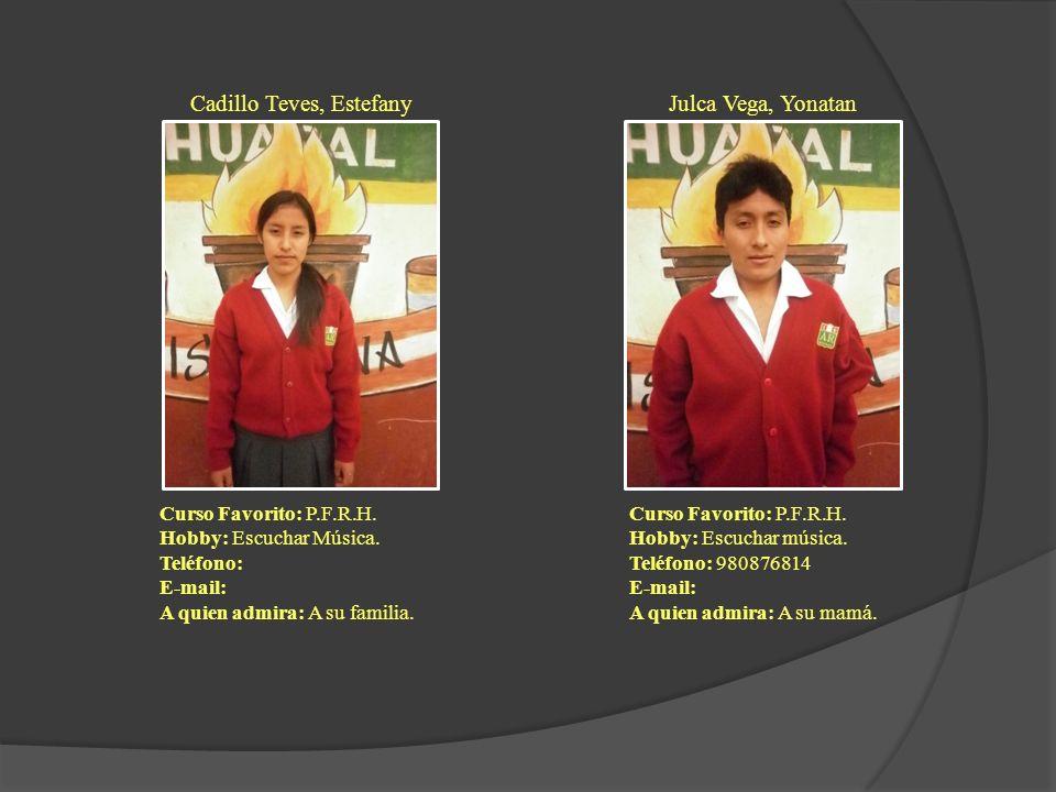 Cadillo Teves, Estefany