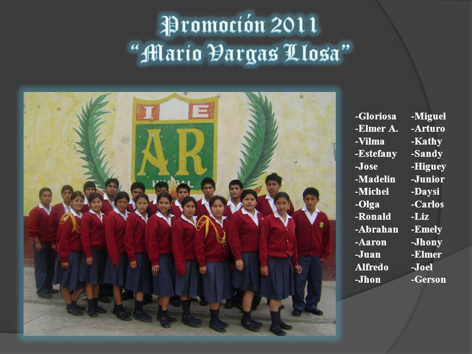 Promoción 2011 Mario Vargas Llosa