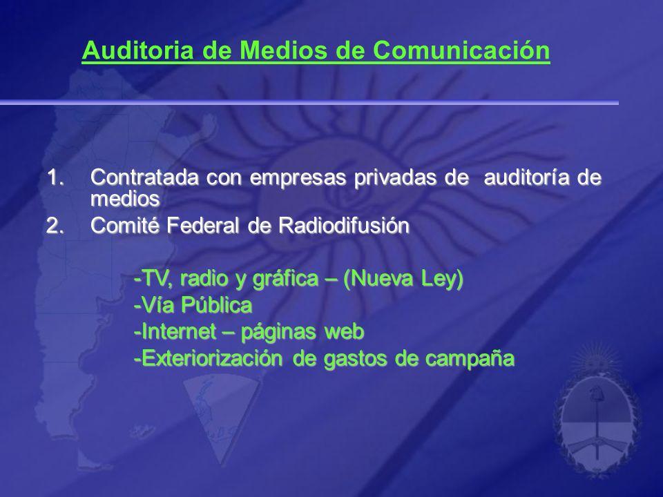 Auditoria de Medios de Comunicación