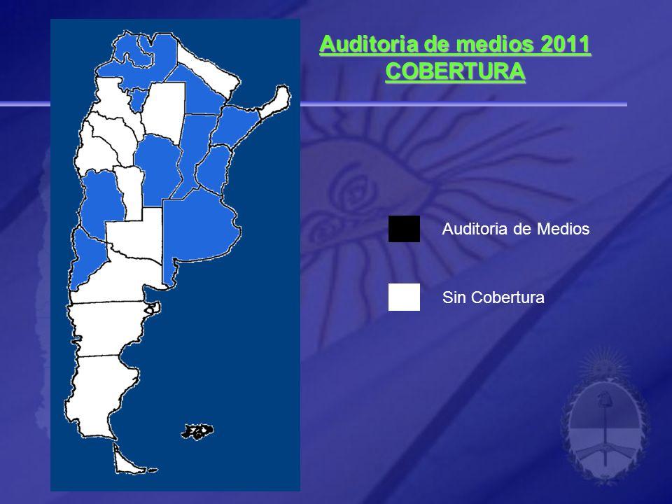 Auditoria de medios 2011 COBERTURA