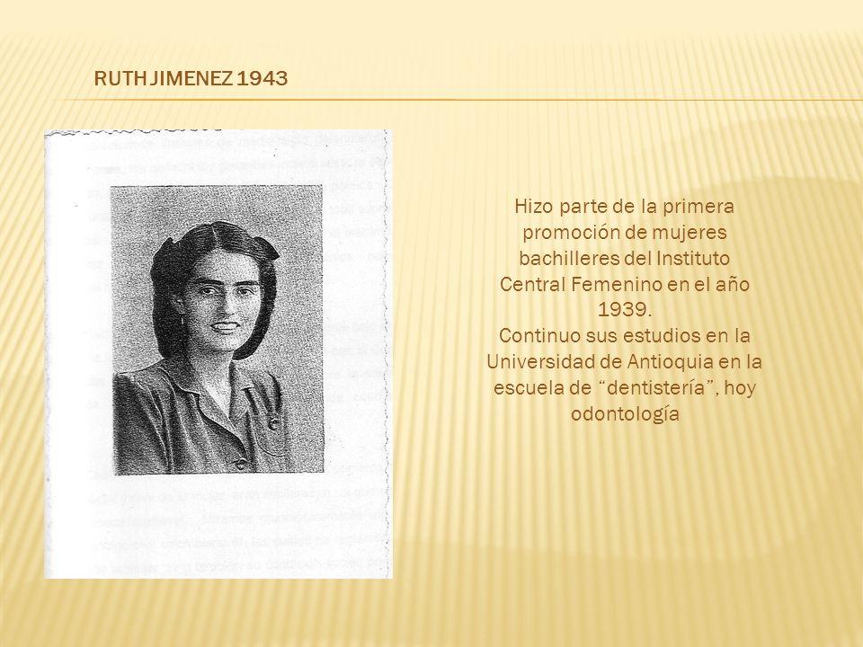 Central Femenino en el año 1939.