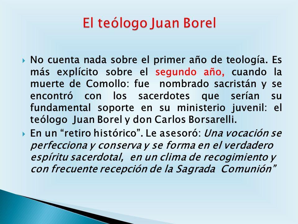 El teólogo Juan Borel