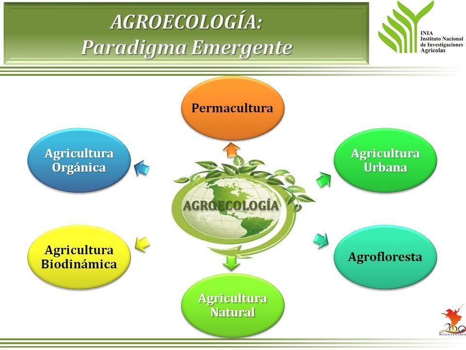 AGROECOLOGÍA: Paradigma Emergente