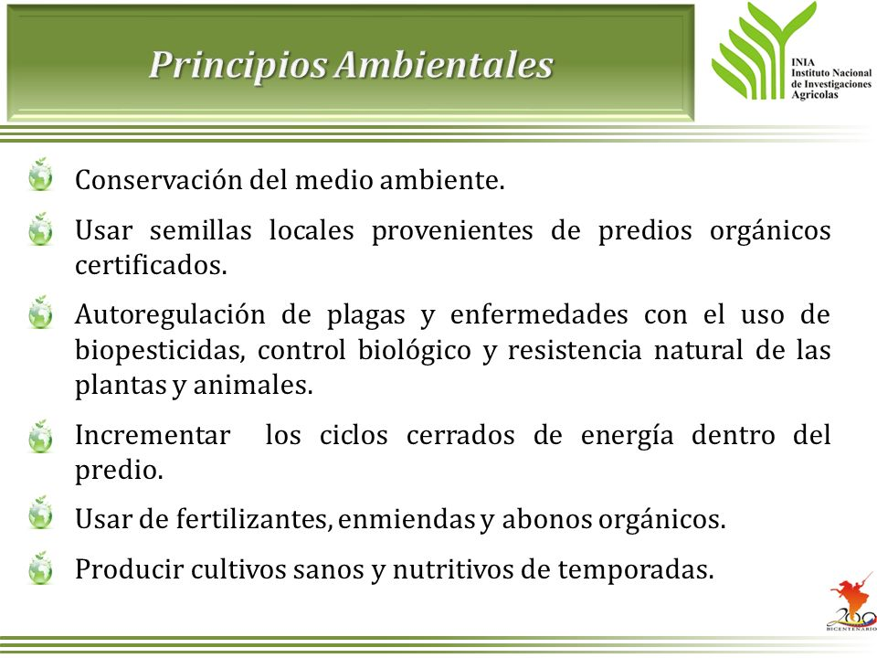 Principios Ambientales