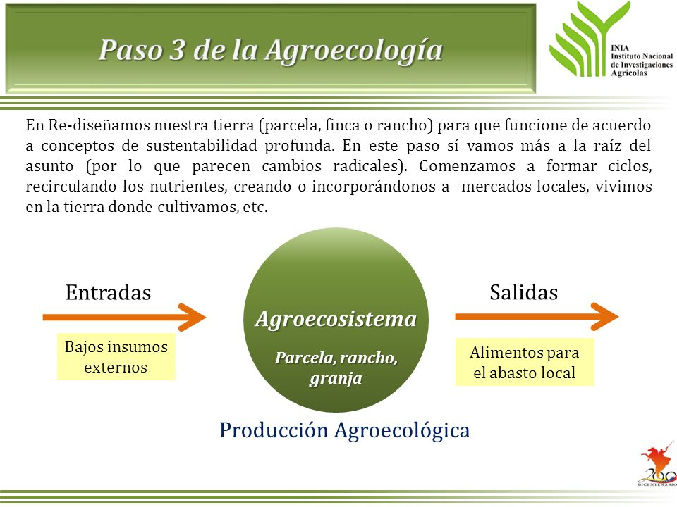 Paso 3 de la Agroecología