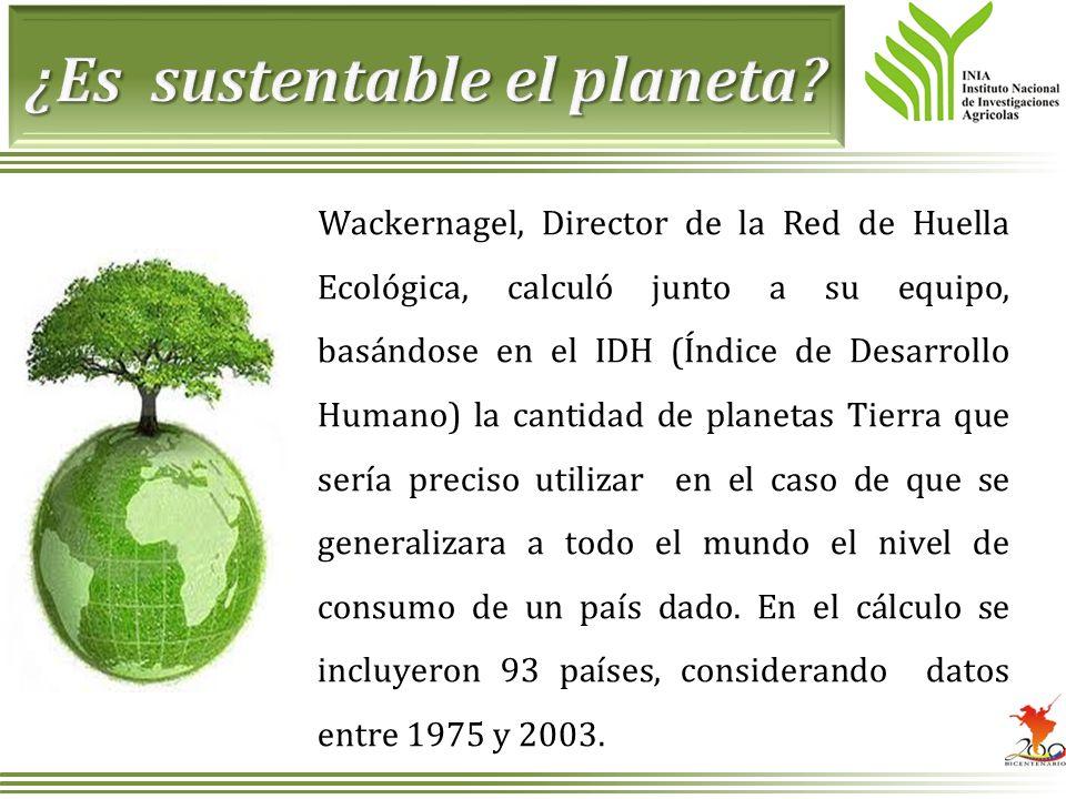 ¿Es sustentable el planeta