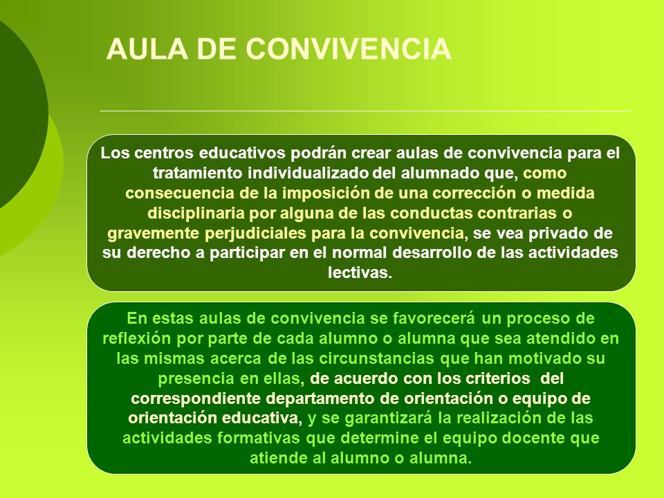 AULA DE CONVIVENCIA