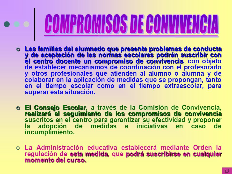 COMPROMISOS DE CONVIVENCIA