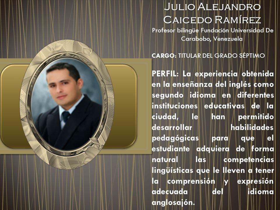 Julio Alejandro Caicedo Ramírez