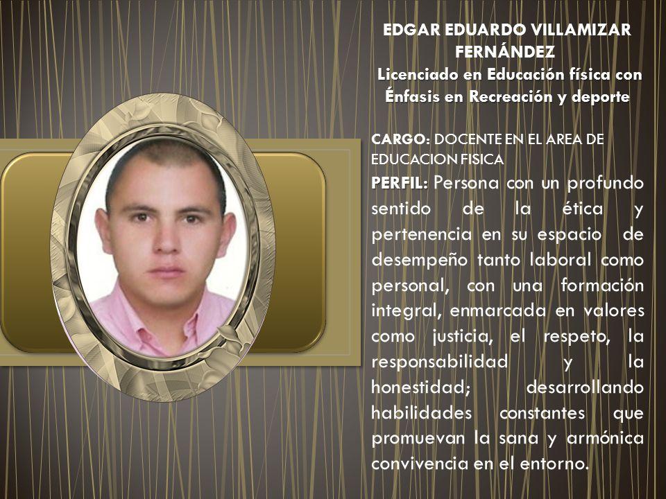 Licenciado en Educación física con Énfasis en Recreación y deporte