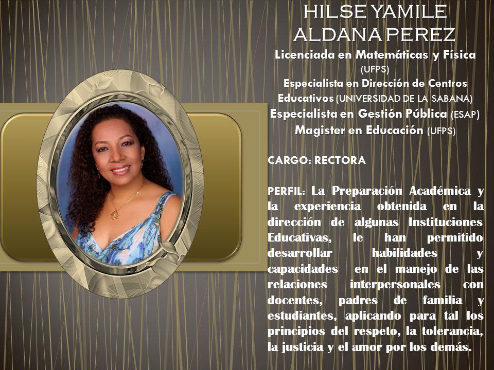 HILSE YAMILE ALDANA PEREZ
