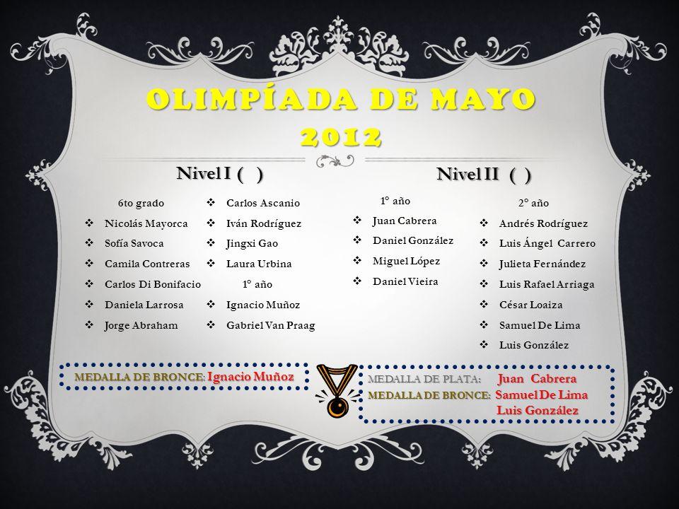 MEDALLA DE BRONCE: Ignacio Muñoz