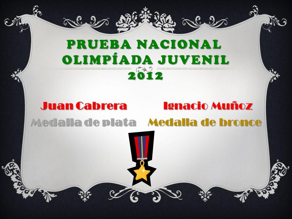 Prueba nacional Olimpíada JUVENIL 2012