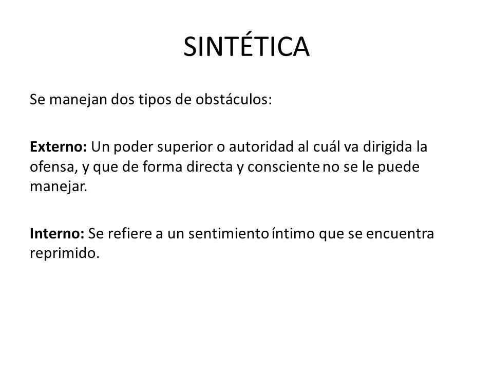 SINTÉTICA