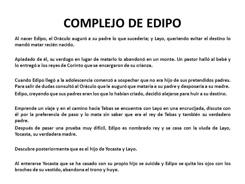 COMPLEJO DE EDIPO