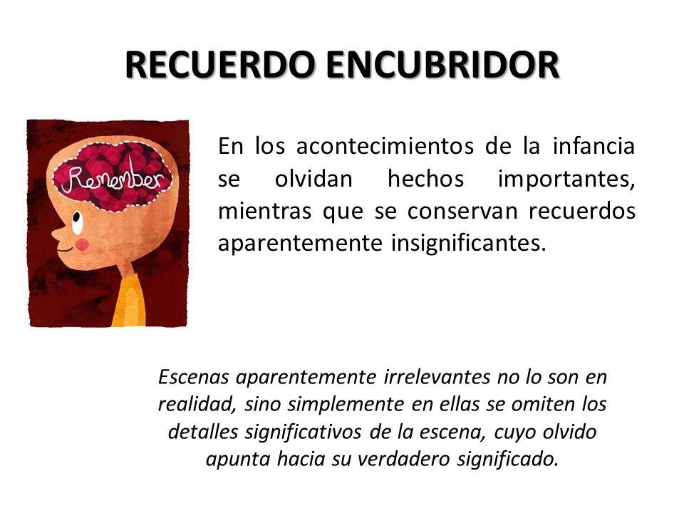 RECUERDO ENCUBRIDOR