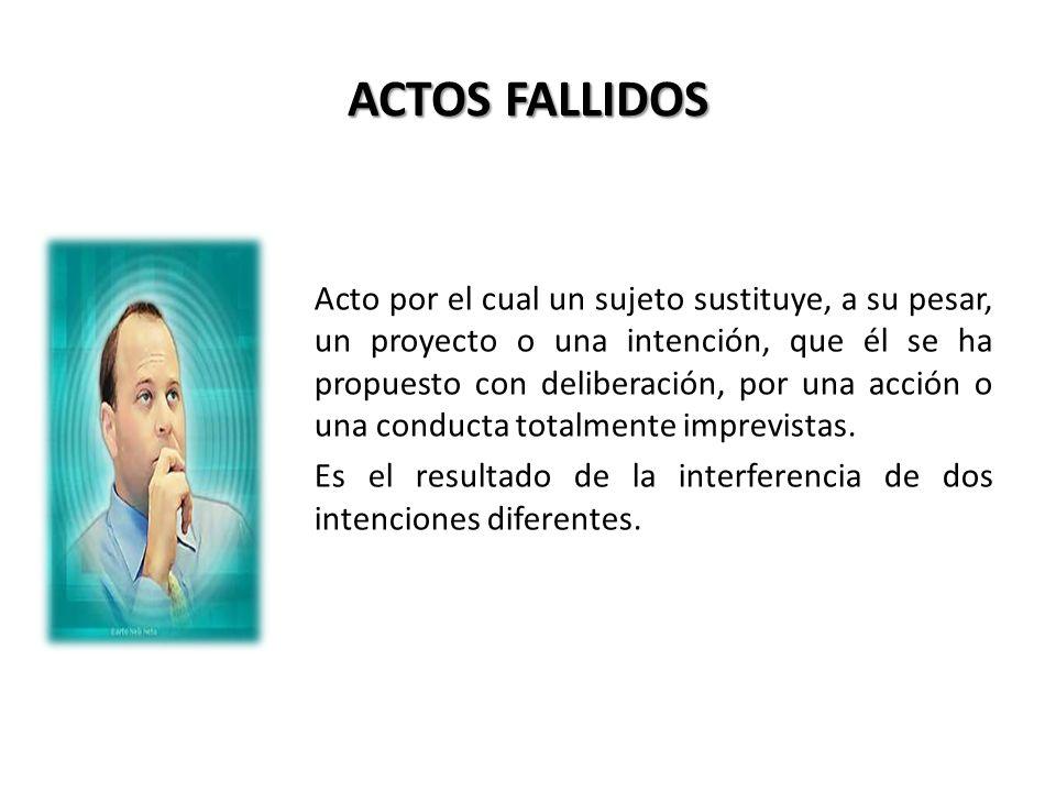 ACTOS FALLIDOS